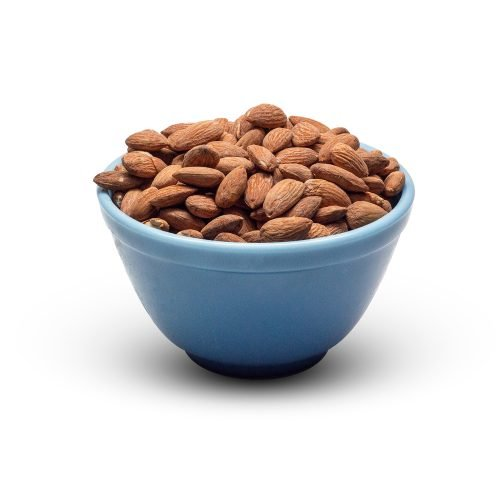 Almonds Roasted Salted In Bowl