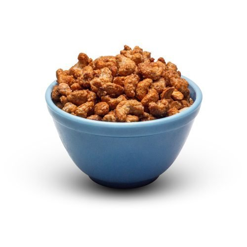 Butter Toffee Cashews In Bowl