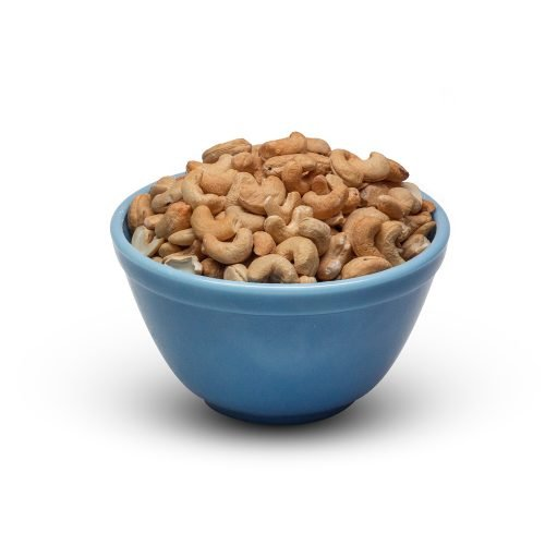Cashews Dry Roasted Unsalted In Bowl