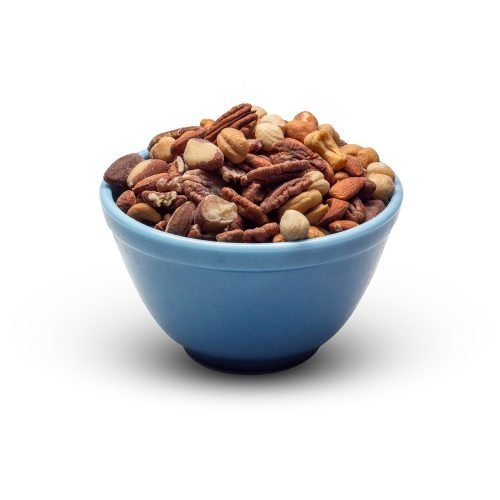 Mixed Nuts Roasted Salted In Bowl