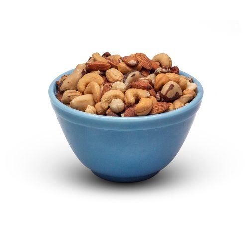 Mixed Nuts Roasted Unsalted In Bowl