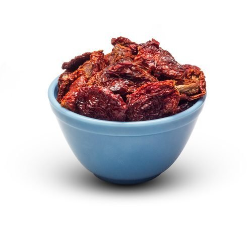 Sun Dried Tomato Halves Without So2 In Bowl