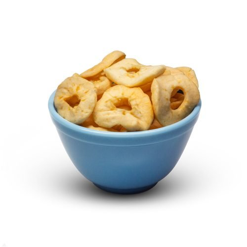 Apple Rings With So2 In Bowl