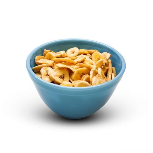 Banana Chips Sweetened In A Bowl Scaled