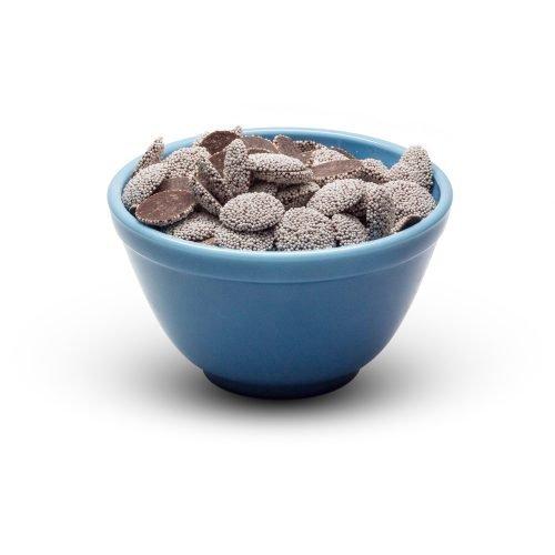 Dark Chocolate Nonparelis In Bowl