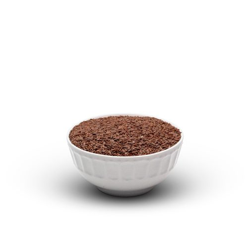Flaxseed Brown In Bowl