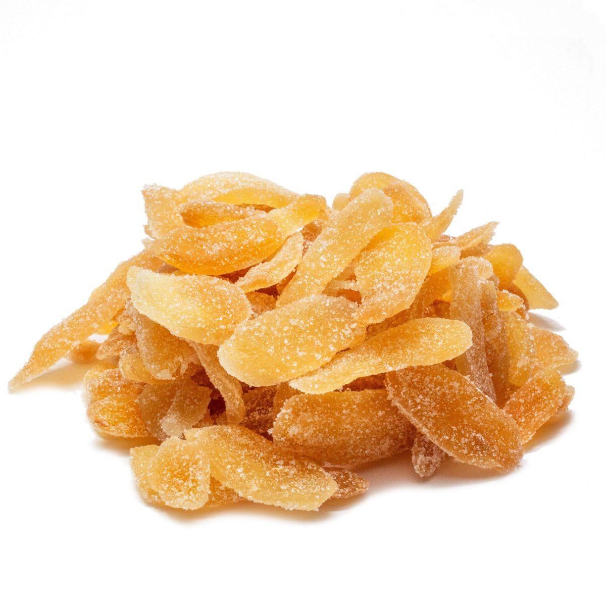 Ginger Crystallized Sweetened Scaled