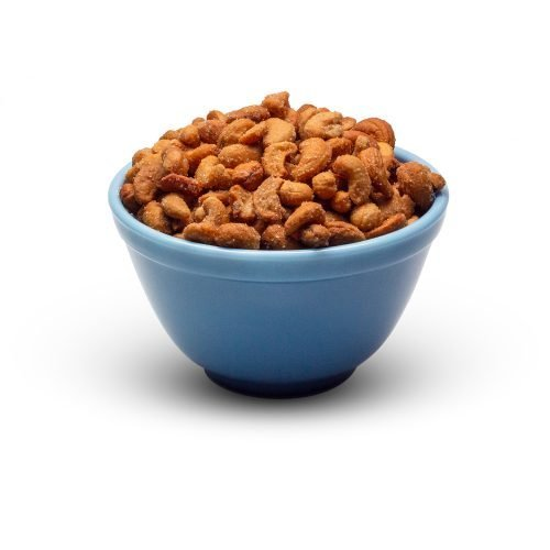 Honey Roasted Cashews In Bowl