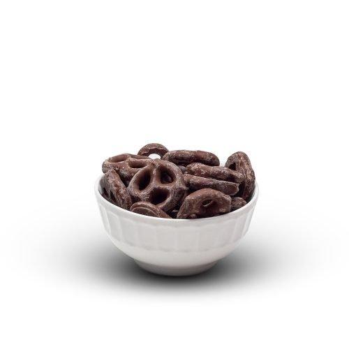 Milk Chocolate Pretzels In Bowl