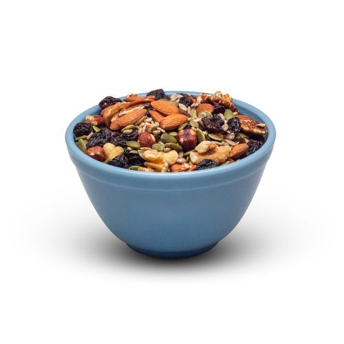 Nut And Seed Mix In Bowl