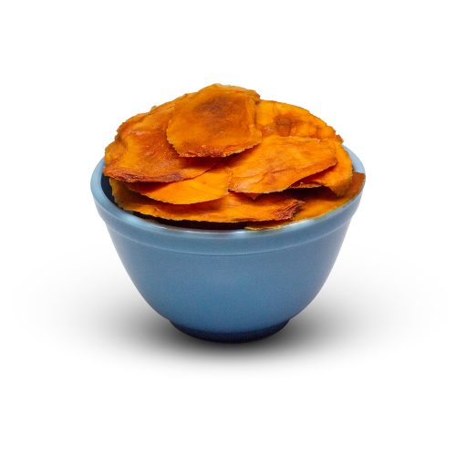 Organic Dried Mango Slices In Bowl