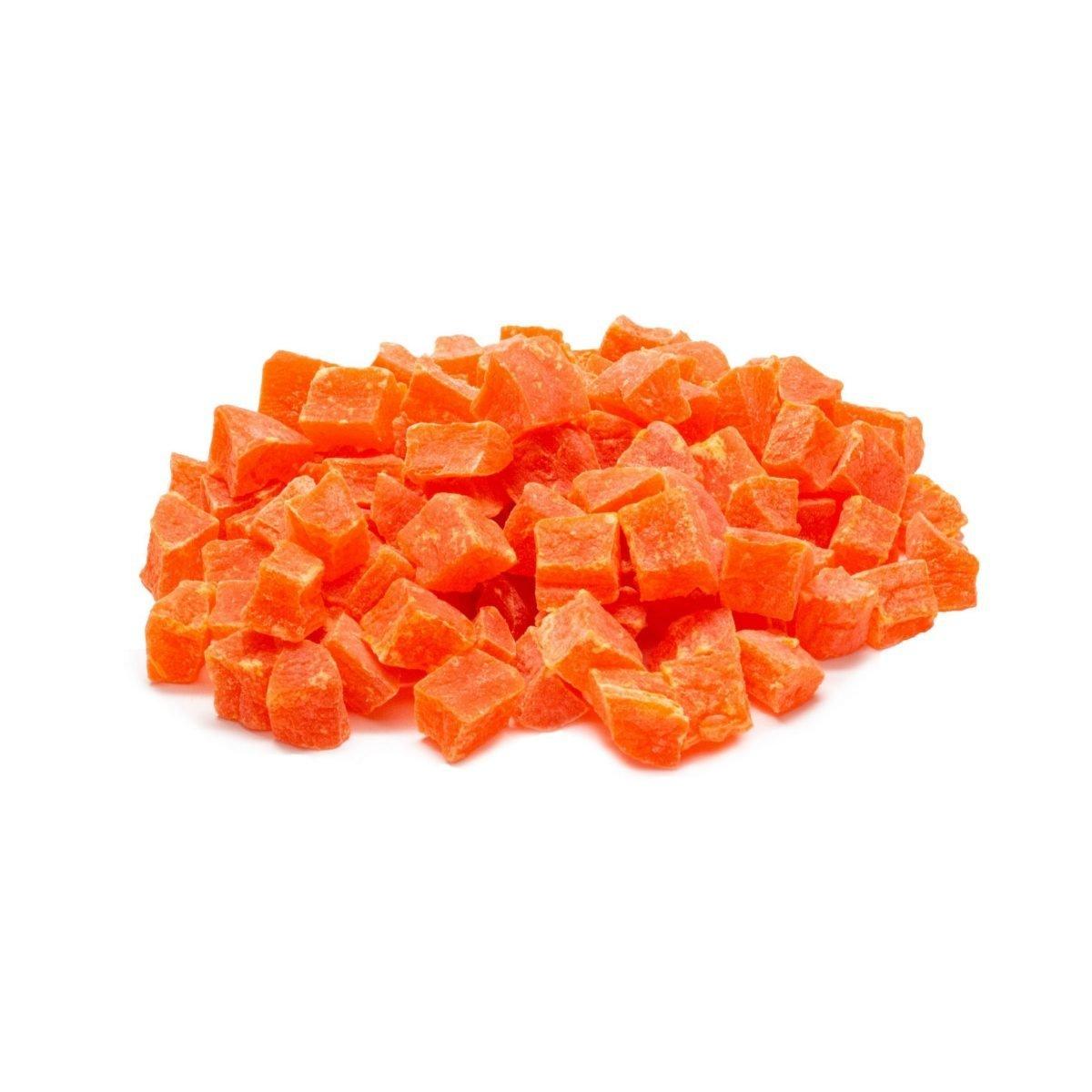 Papaya Chunks Sweetened With So2 Scaled