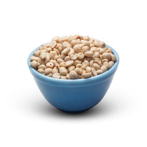 Peanuts Raw In A Bowl