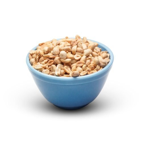 Peanuts Roasted Unsalted In A Bowl