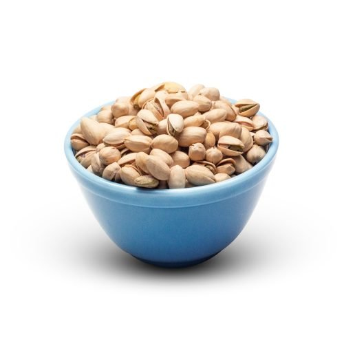 Pistachios Roasted Salted In A Bowl