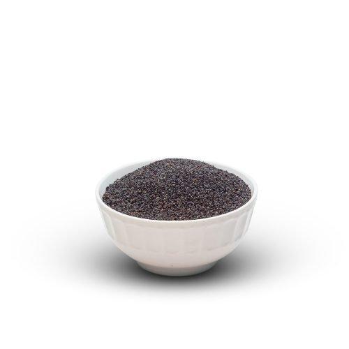 Poppy Seeds Black In Bowl