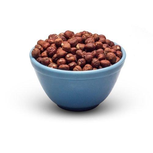 Raw Hazelnuts In Bowl