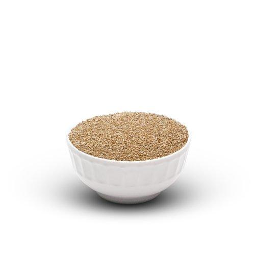 White Quinoa In Bowl