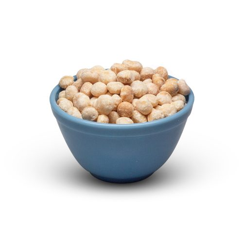 Whole Macadamia Nuts In Bowl